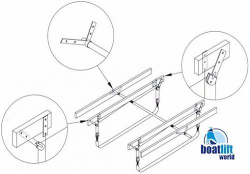 6000 lb. Sling Boat Lift - Boat Lift World Magnum Lifts Boat Wiring Diagram on