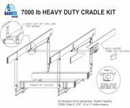 7000 lb. Cradle Boat Lift