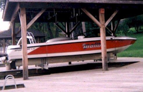 5000 lb. Cradle Boat Lift
