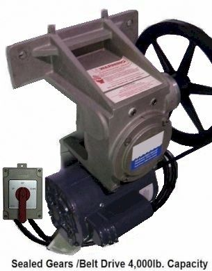 Boat Lift Gear Unit - Sealed