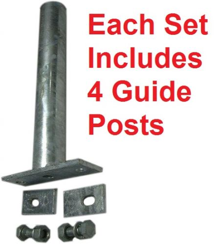 "Boat trailer guides | post guide-ons, 65"" tall 